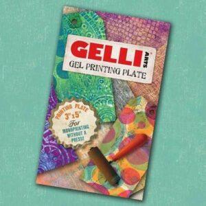 "Gelli Arts - Gel Printing Plate 7.6x12.7cm GEL3""X5"""