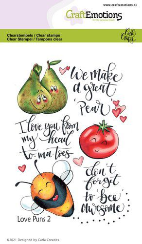 CE clearstamps - Love Puns 2 Carla Creaties 130501/1505