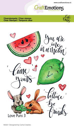 CE clearstamps - Love Puns 3 Carla Creaties 130501/1506