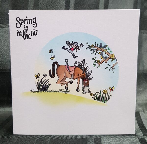 CraftEmotions clearstamps A6 - Sjors 3 Spring Carla Creaties