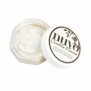 Nuvo Crackle Mousse - Russian White 1397N