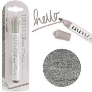Nuvo Glitter marker - Urban Graphite 188N