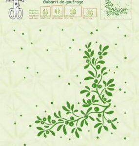 LeCrea - Embossing folder Mistletoe 35.0997