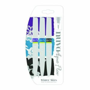 Nuvo Aqua flow pens - Winter skies 891N