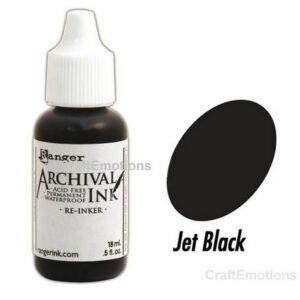 Archival Re-inker - Jet Black ARR30799