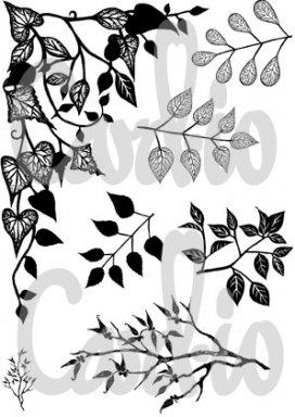 Card-io Clear Stempels Greenery-1