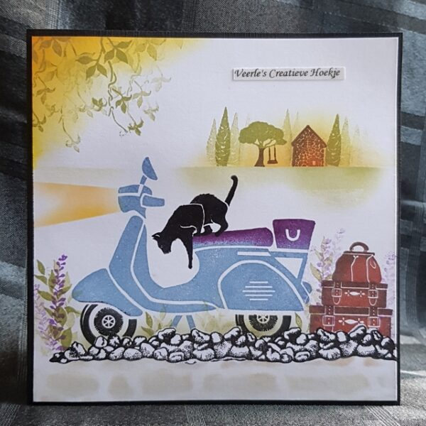Card-io Clear Stamp Set Terracotta Terrace CCSTTER-01