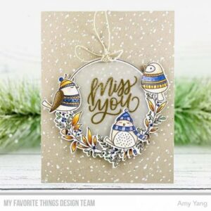 Winter Wreath Clear Stamps (CS-522)