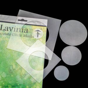 Lavinia Stamps Acetate Circle Masks LAM001