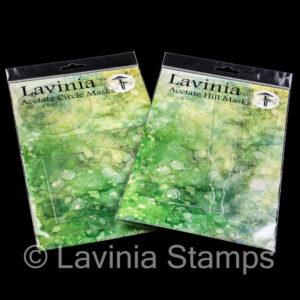 Lavinia Stamps Acetate Hill Masks LAM002