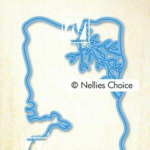 Nellie's Choice Layered Combi Dies (Layer B) LCDPA002