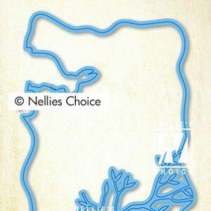 Nellie's Choice Layered Combi Dies (Layer C) LCDPA003