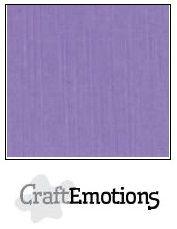 CraftEmotions linnenkarton 10 vel lavendel LHC-20 /A4/ 250gr