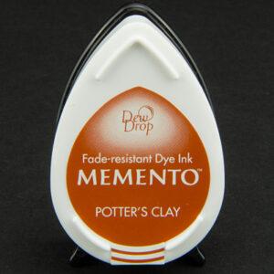 Memento Dew Drop inktkussen Potter's Clay MD-000-801