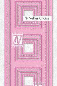 Nellie's Choice Multi Frame Die - Slimline vierkant MFD140