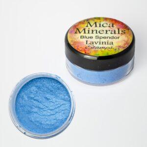 Lavinia Stamps Mica Minerals - Blue Splendor