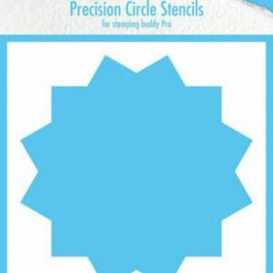 Nellie's Choice Precision Stencils 12-punts Cirkel MMPCS002