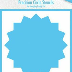 Nellie's Choice Precision Stencils 16-punts Cirkel MMPCS003