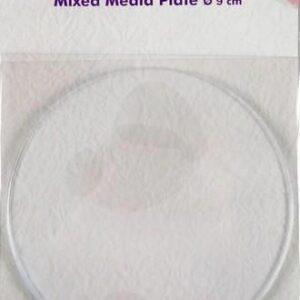 Nellies Choice Gelplate Rond 9cm NMMP005