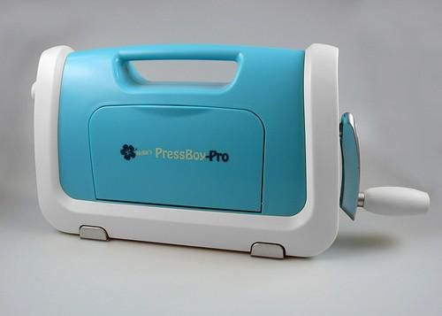 Nellie's Choice PressBoy Pro A5 Stansmachine NPB003