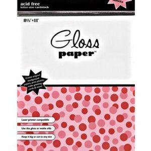 Ranger Gloss Paper PAP12887