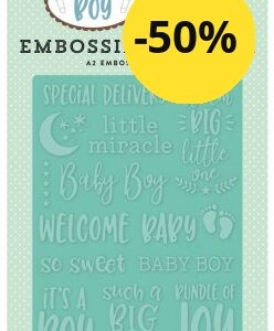 Echo Park Special Delivery Embossing Folder SBB143031