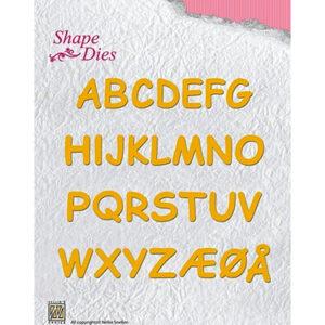 Nellie's Choice Shape Dies SD037 - Alphabet