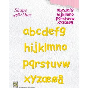 Nellie's Choice Shape Dies SD079 - Alphabet kleine letters