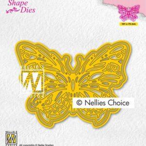 Nellies Choice Shape Die - Vlinder SD199