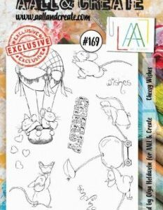 AALL&Create Stamp Set 169 - Cheesy Wishes