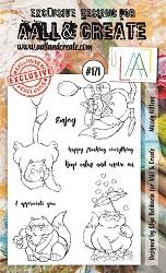 AALL&Create Stamp Set 171 - Moody Kittens