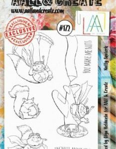 AALL&Create Stamp Set 172 - Nutty Squirels