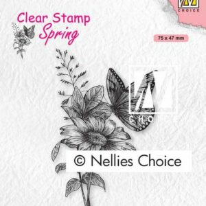 Nellie's Choice Clearstempel - Vlinders SPCS018