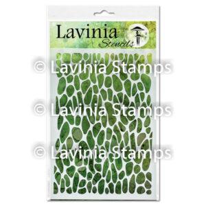 Lavinia Stencil Crackle ST004