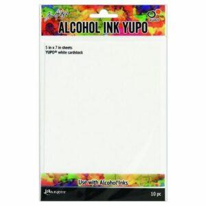 Ranger Alcohol Ink Yupo Paper White TAC49715 - 10 vellen