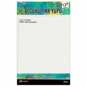 Ranger Alcohol Ink Yupo Paper White TAC63339