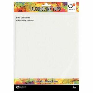 Ranger Alcohol Ink Yupo Paper Wit TAC63346