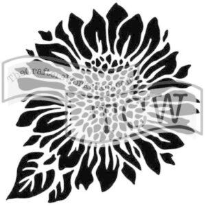 The Crafter's Workshop Joyful Sunflower Stencil (TCW575s)