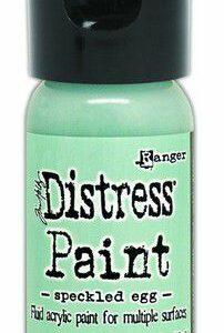Distress Paint Flip Cap Bottle - Speckled Egg TDF72560