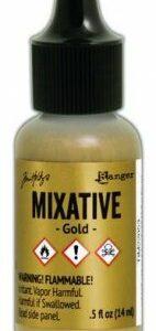 Ranger Alcohol Ink - gold mixative TIM22053 Tim Holz