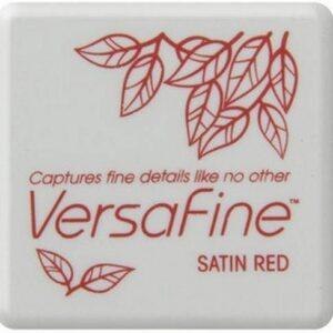 Versafine Mini inktkussen Satin red VF-SML-010