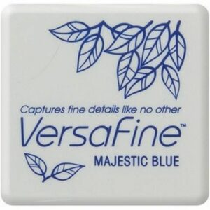 Versafine Mini inktkussen Majestic blue VF-SML-018