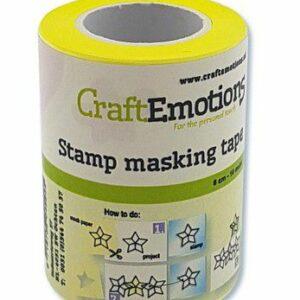 CraftEmotions Stempel/ Maskeer Tape 6 cm