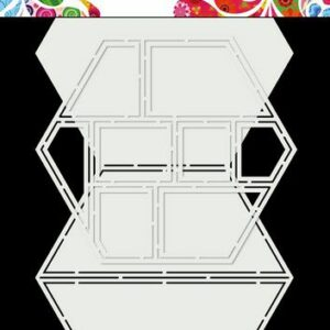 Dutch Doobadoo Dutch Card Art Easel Card Hexagon 470.713.850