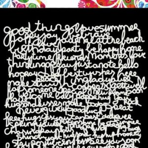 Dutch Doobadoo Mask Art Tekst 470.715.626