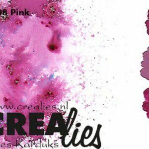 Crealies Pigment Colorzz Poeder Rose CLPC08