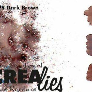 Crealies Pigment Colorzz Poeder Donkerbruin CLPC28