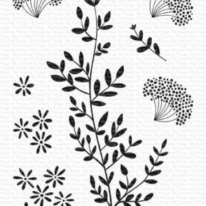 MFT Dandelion Greenery Clear Stamps (CS-474)