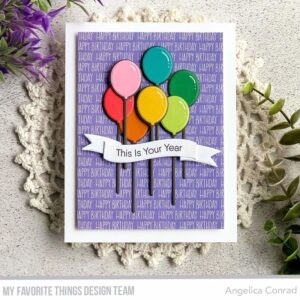My Favorite Things Balloon Bouquet Clear Stamps (CS-548)