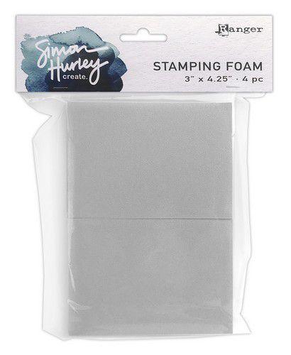 "Ranger Stamping Foam 3""x4,25"" HUA76391 Simon Hurley"